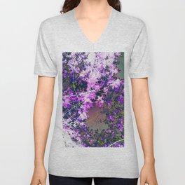 Lavender Lullabies Unisex V-Neck