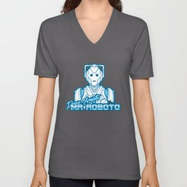 Domo Arigato Mr. Cyberman Unisex V-Neck
