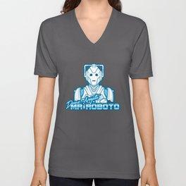 Domo Arigato Mr. Cyberman Unisex V-Neck