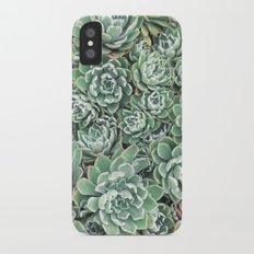 Succulent Bed Slim Case iPhone X