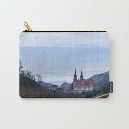 Basilica of Covadonga in the mountains, Spain Carry-All Pouch
