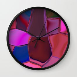 Plicate Wall Clock