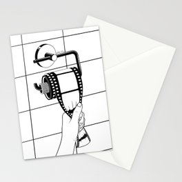 Past is shit Stationery Cards