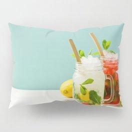 summer cocktails Pillow Sham
