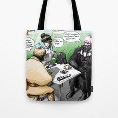 A falar é que as pessoas se entendem Tote Bag