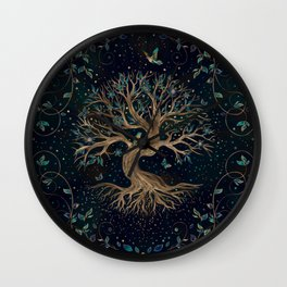 Tree of Life - Yggdrasil Wall Clock