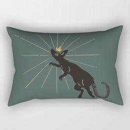 King of Nothing Rectangular Pillow