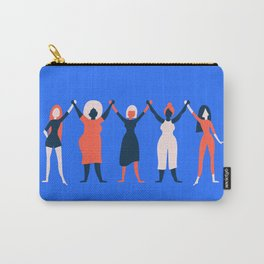 Girl Gang - Blue Carry-All Pouch