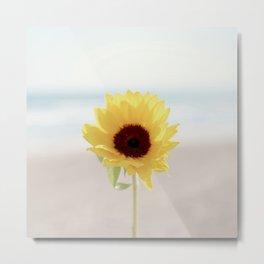 Daylight flower Metal Print