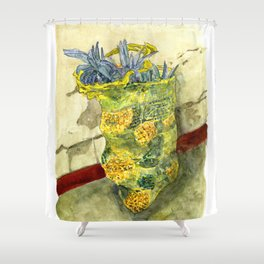 A Bag of Pineapples Shower Curtain