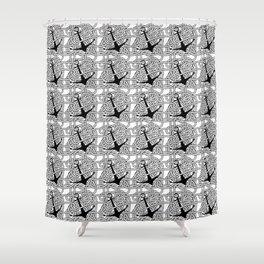 SAILORS Shower Curtain