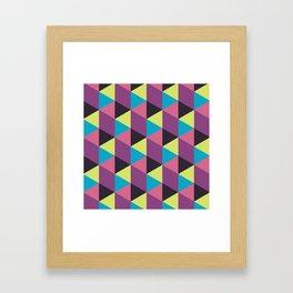 Prisma Shadows Framed Art Print