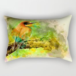 Waterbird Rectangular Pillow