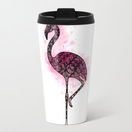 Flickering Flamingo Travel Mug