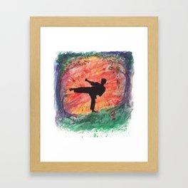 Sidekick Sunrise Framed Art Print