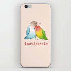 Tweethearts iPhone & iPod Skin
