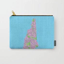 New Hampshire in Flowers Carry-All Pouch