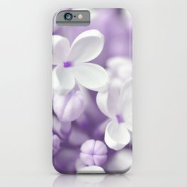 Lilac 167 iPhone Case