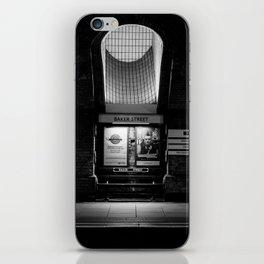 Alight here for Sherlock Holmes - Baker Street Tube iPhone Skin