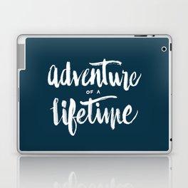 Adventure of a Lifetime - Navy Laptop & iPad Skin