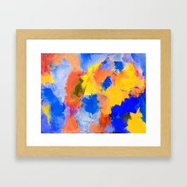 Untitled Abstract 3 Framed Art Print