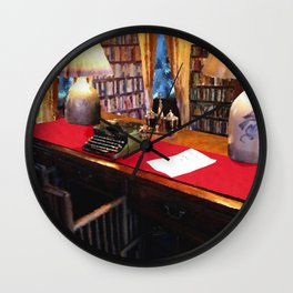 Pearl S Buck Library Wall Clock