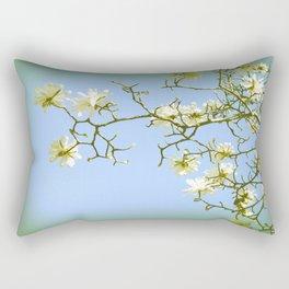 Spring Blossoms photo art by Ann Powell Rectangular Pillow