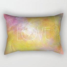 Love Sacred Geometry Rectangular Pillow