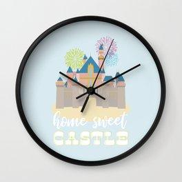 Disneyland Castle, Home Sweet Castle Wall Clock