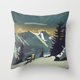Pause Throw Pillow