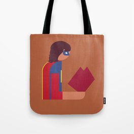 Ms Lady Reads Tote Bag