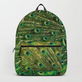 Beautiful Peacock Backpack