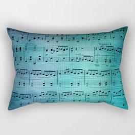 Painted Music Rectangular Pillow