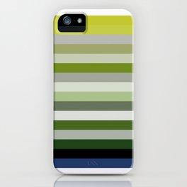 Les lignes de couleurs 02 iPhone Case