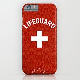 Lifeguard, Life guarding, Coast Guard, Beach , Baywatch iPhone Case