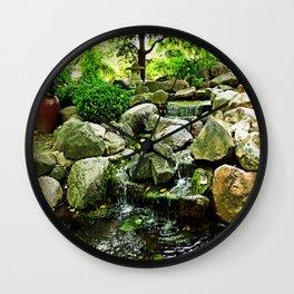 Rotary Garden, Janesville Wisconsin, photo by John Schwalbe Wall Clock