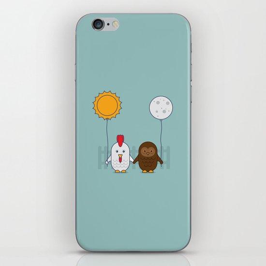 Early Bird & Night Owl iPhone & iPod Skin