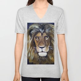 Portrait Of The King Unisex V-Neck