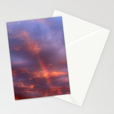 Dramatic Rainbow Stationery Cards