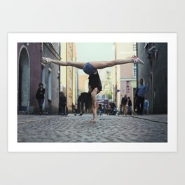 Upside-Down Art Print