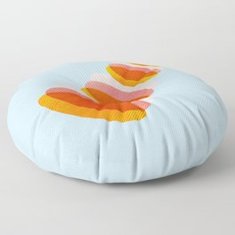 Abstract0809 Floor Pillow