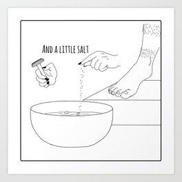 Cum cake 3 Art Print