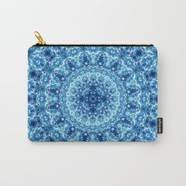 Crystal Radiance Mandala Carry-All Pouch