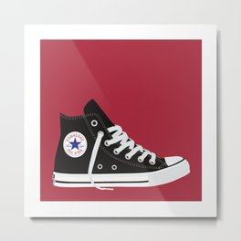 The Kicks: Chucks Metal Print