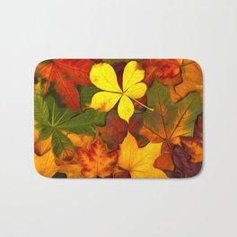 Colorful Autumn Bath Mat