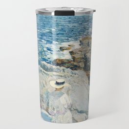 The South Ledges, Appledore by Childe Hassam Travel Mug