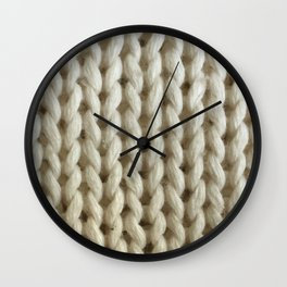knitwit Wall Clock