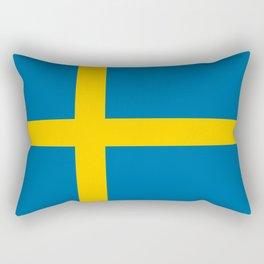 National flag of Sweden Rectangular Pillow
