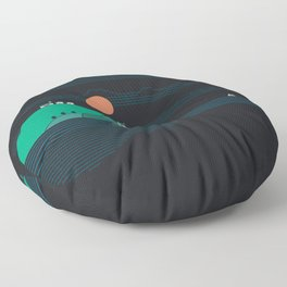 Island Folk Floor Pillow