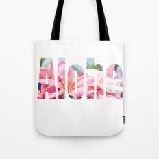Aloha white Tote Bag